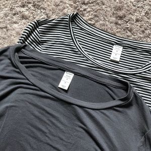 Lot of 2 Old Navy LUXE Tees